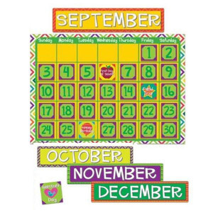 Sharp Bunch Calendar Bulletin Board