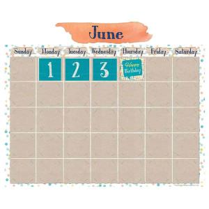 Confetti Splash Calendar Bulletin Board