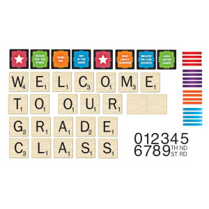 Scrabble Welcome To Our Class Mini Bulletin Board