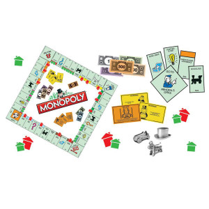 Monopoly Mini Bulletin Board Set