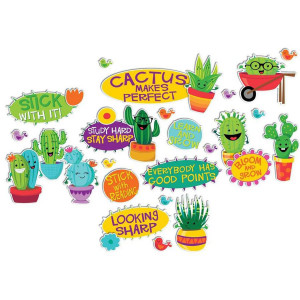 Sharp Bunch Positive Words Mini Bulletin Board