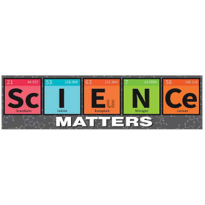 Science Matters Periodic Table Banner