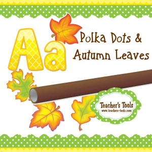 *Polka Dot & Autumn Leaves Style Guide