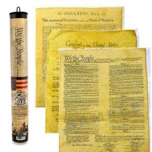 Charters of Freedom Posters in a Tube