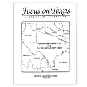 Focus on Texas History Book