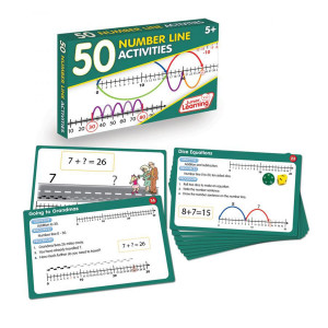 50 Number Line Activities Cards