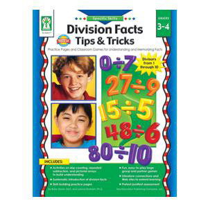 Division Facts: Tips & Tricks-Grades 3-4