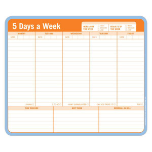 5 Days a Week Mousepad
