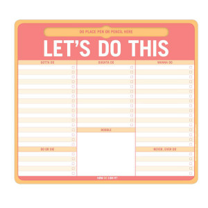 Let's Do This Pen-to-Paper Mousepad