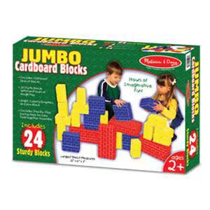 Jumbo Cardboard Blocks-24 Pieces