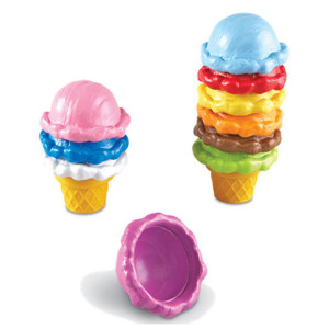 Rainbow Color Cones