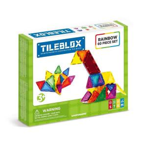 Magformer Tileblox-Rainbow 60 Set