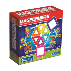 Magformers 30 Piece Rainbow Set