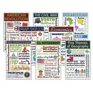Social Studies Chatter Charts Bulletin Board