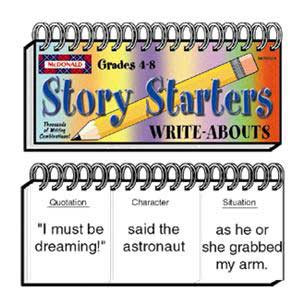 Story Starters Write-Abouts