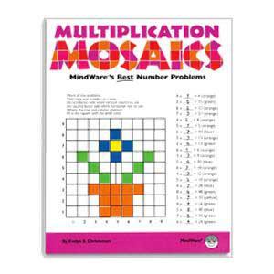 Multiplication Mosaics Book