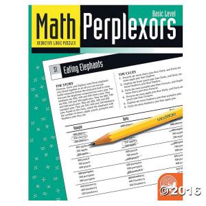 Math Perplexors Book-Basic