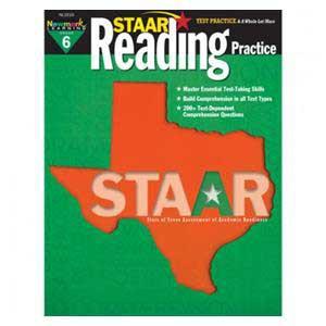 STAAR Reading Practice Book-Grade 6
