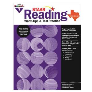 STAAR Reading Warm-Ups & Test Practice Grade 7