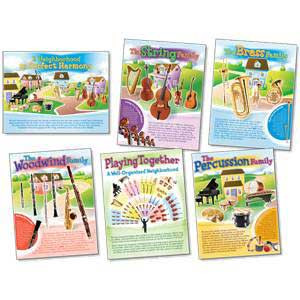 Musical Instruments Bulletin Board Set