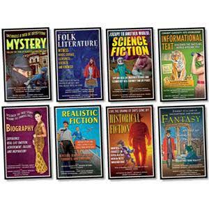 Literary Genres Bulletin Board