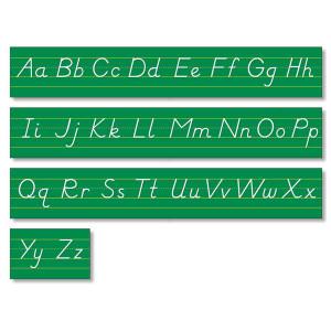 Modern Manuscript Alphabet Line