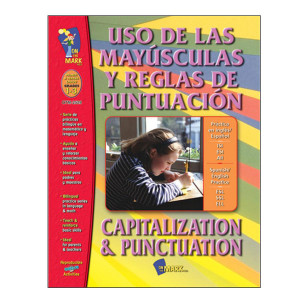 Capitalization & Punctuation Spanish Book
