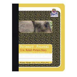 "Composition Book-1/2"" Ruled Picture Story"