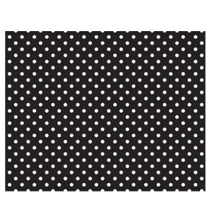 Black & White Dots Fadeless Bulletin Board Paper