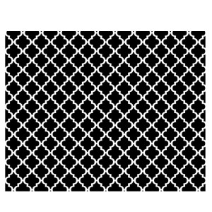 Black Moroccan Fadeless Bulletin Board Paper