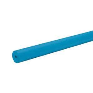 "Bright Blue Bulletin Board Paper 48""x200'"