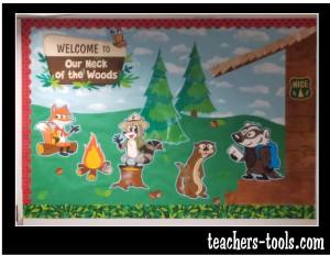 *Ranger Rick Cabin Bulletin Board