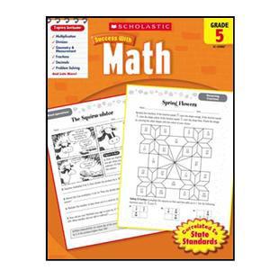Scholastic Success with Math Book Grade 5
