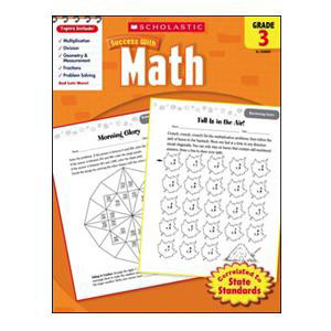 Scholastic Success with Math Book Grade 3