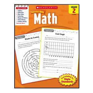 Scholastic Success with Math Book Grade 2