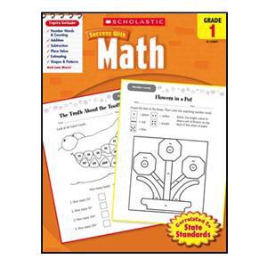 Scholastic Success with Math Book Grade 1