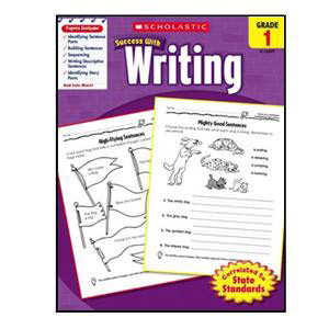 Scholastic Success with Writing Book Grade 1