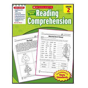 Scholastic Success with Reading Comp. Book Grade 2