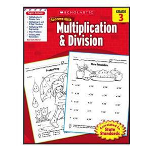 Scholastic Success Multiplication/Div Book Grade 3
