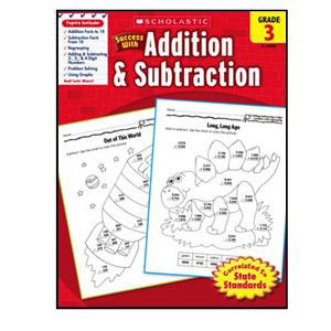 Scholastic Success with Add/Subtract Book Grade 3