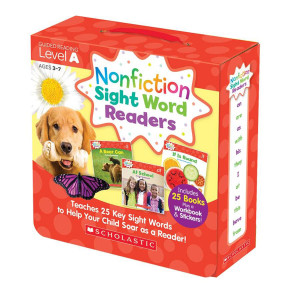 Nonfiction Sight Word Readers Pack-Level A