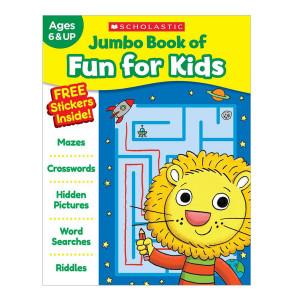 Jumbo Book of Fun for Kids