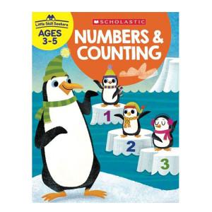 Little Skill Seekers: Numbers & Counting Workbook