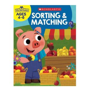 Little Skill Seekers: Sorting & Matching Workbook