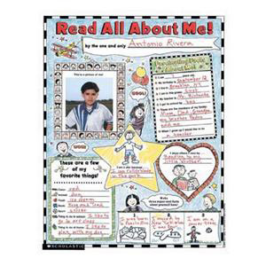 Read All About Me Posters K-2