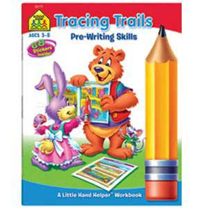Little Hand Helpers Tracing Trails Workbook