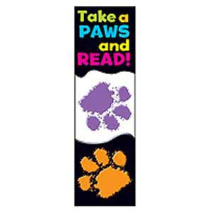 Take Paws & Read Bookmarks