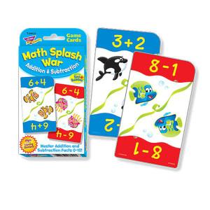 Math Splash War-Addition & Subtraction
