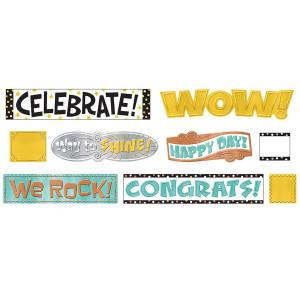 I Heart Metal Celebration Signs Mini Bulletin Bd