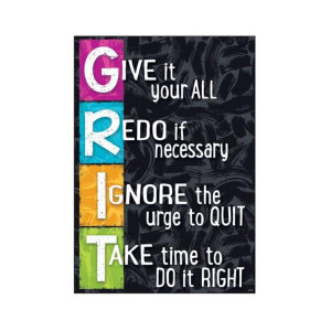GRIT Small Poster